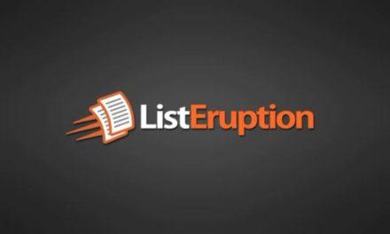 List Eruption V2